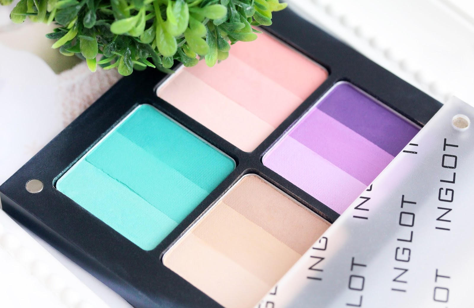 inglot rainbow freedom system eye shadows