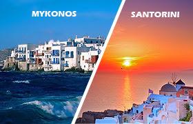 Mykonos Santorini