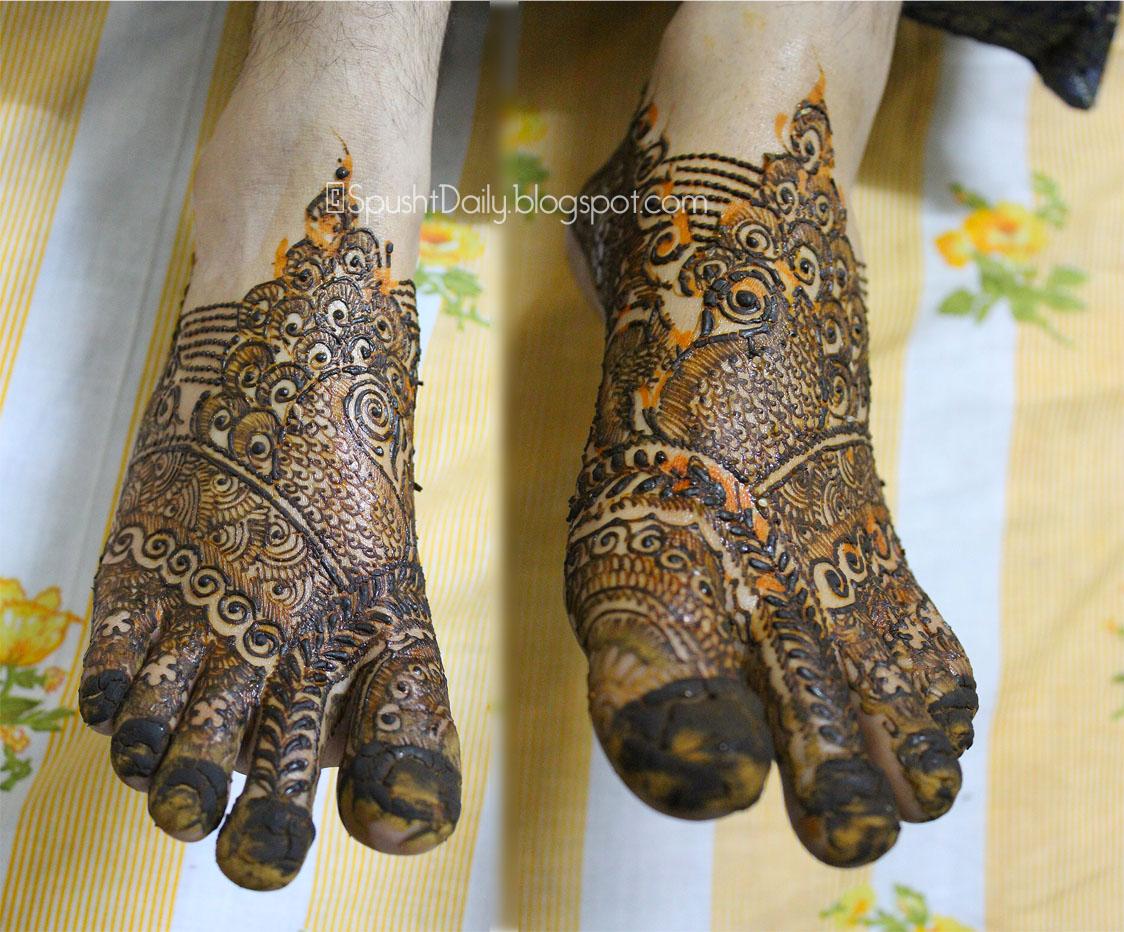 Dulhan Mehndi Designs  New Style