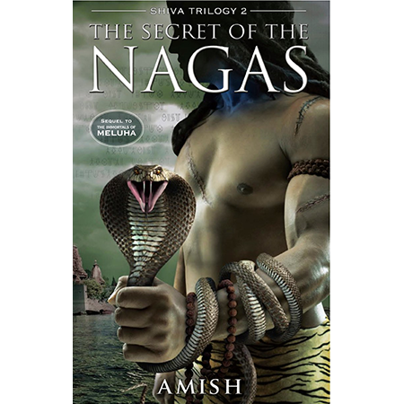 Book Bucket Challenge - The Secret of The Nagas