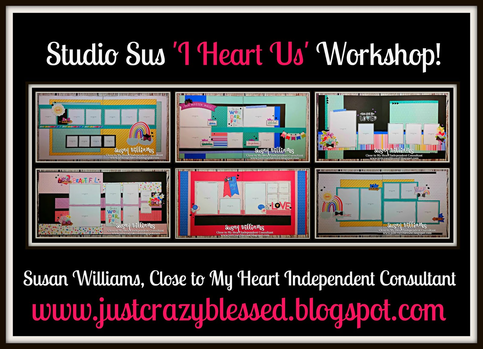 'I Heart Us' Scrapbooking Workshop!