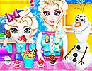 Elsa Baby Caring Slacking