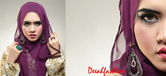 Trend Hijab Syari Bold Untuk Pesta