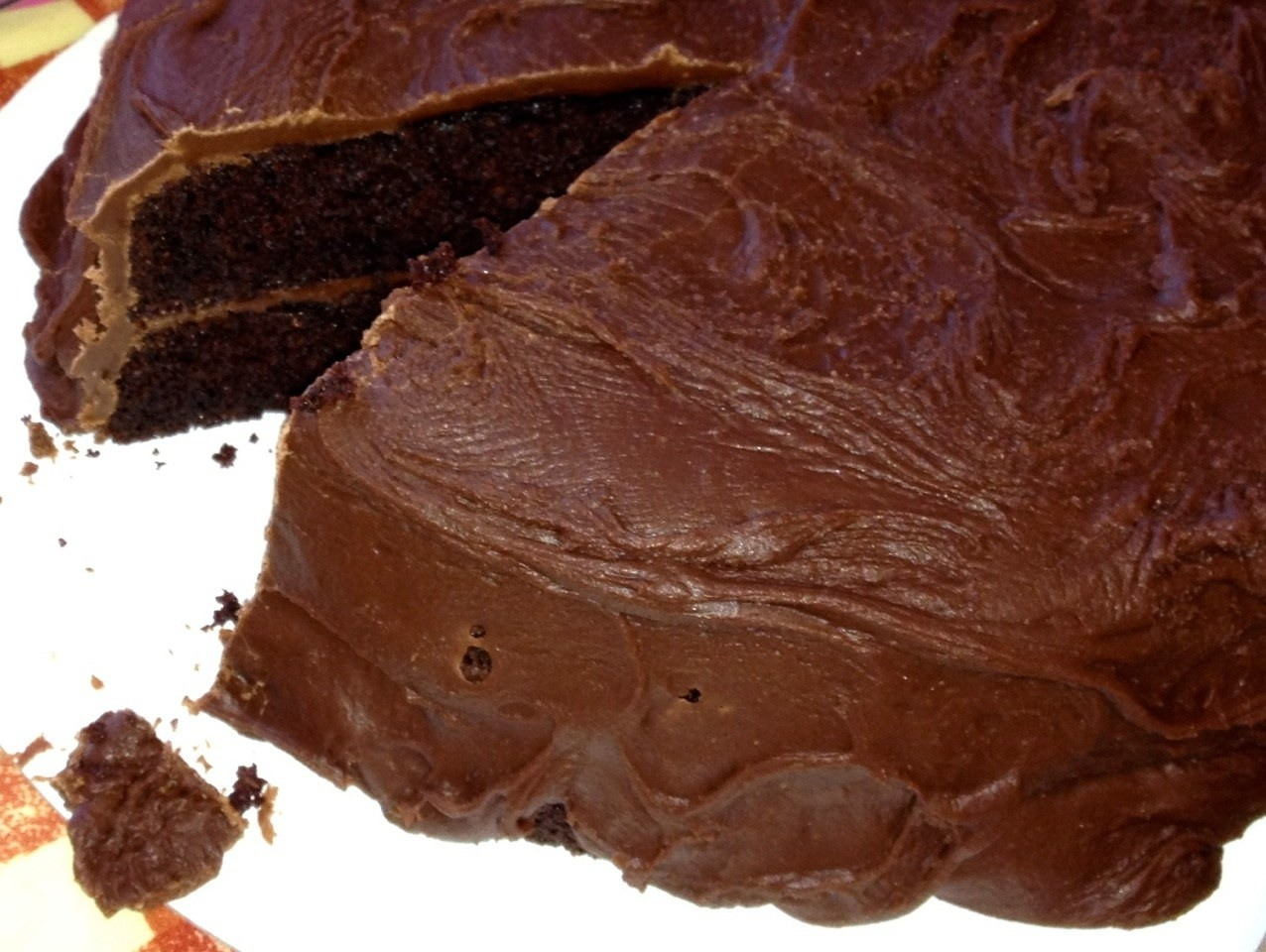 Bring back the bliss: Best ever easy gluten free chocolate cake