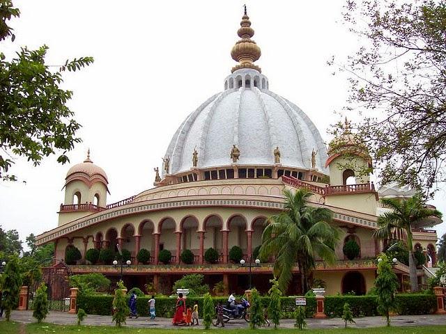 Mayapur - Srila Prabhupada Pushp Samadhi