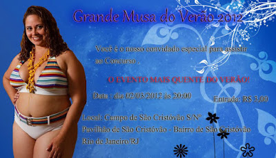 Concurso Grande Musa do Verão 2012