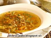 Špaldovo-zeleninová polievka - recept