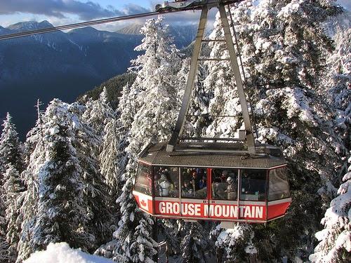 Montaña Grouse Funicular Vancouver