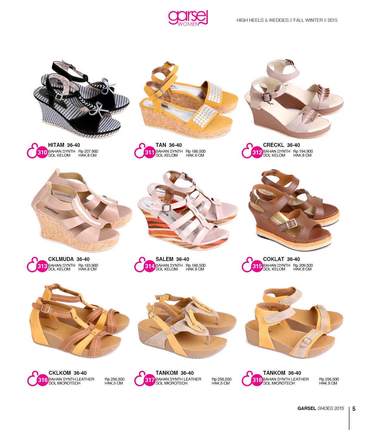 Katalog Terbaru Sepatu dan Sandal Garsel 2015-2016 ...