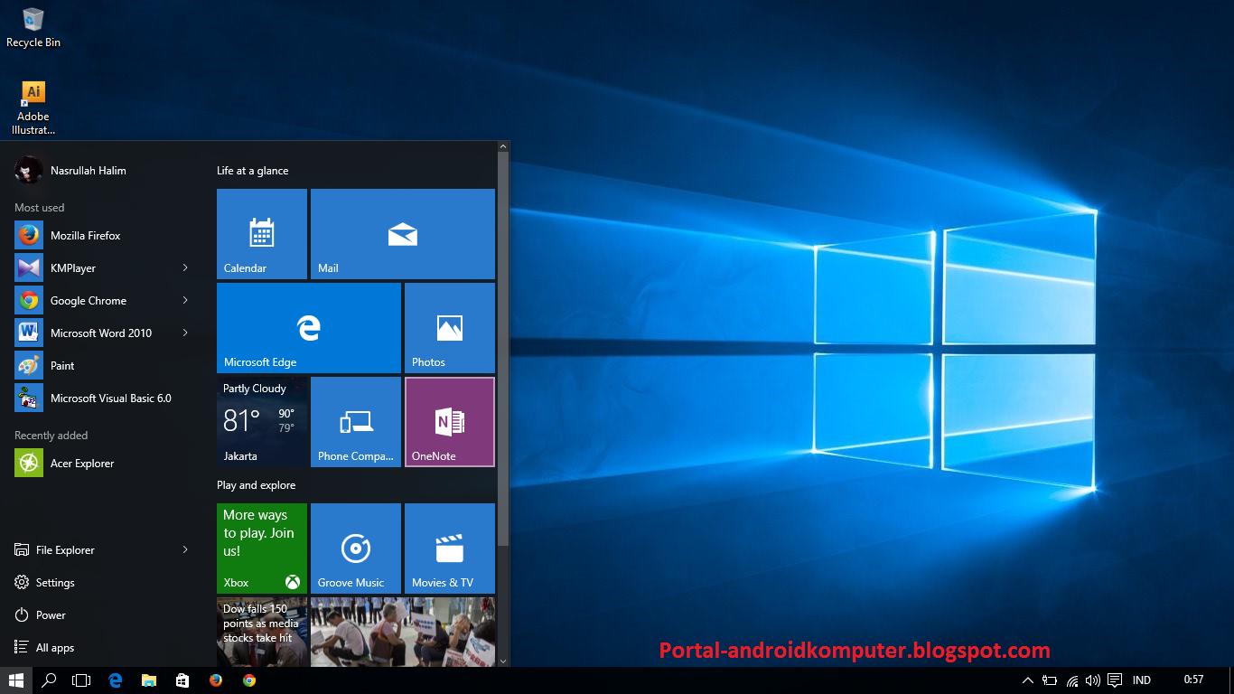 Ini cara mudah upgrade win 7 ke windows 10 full lengkap for Window design 2018