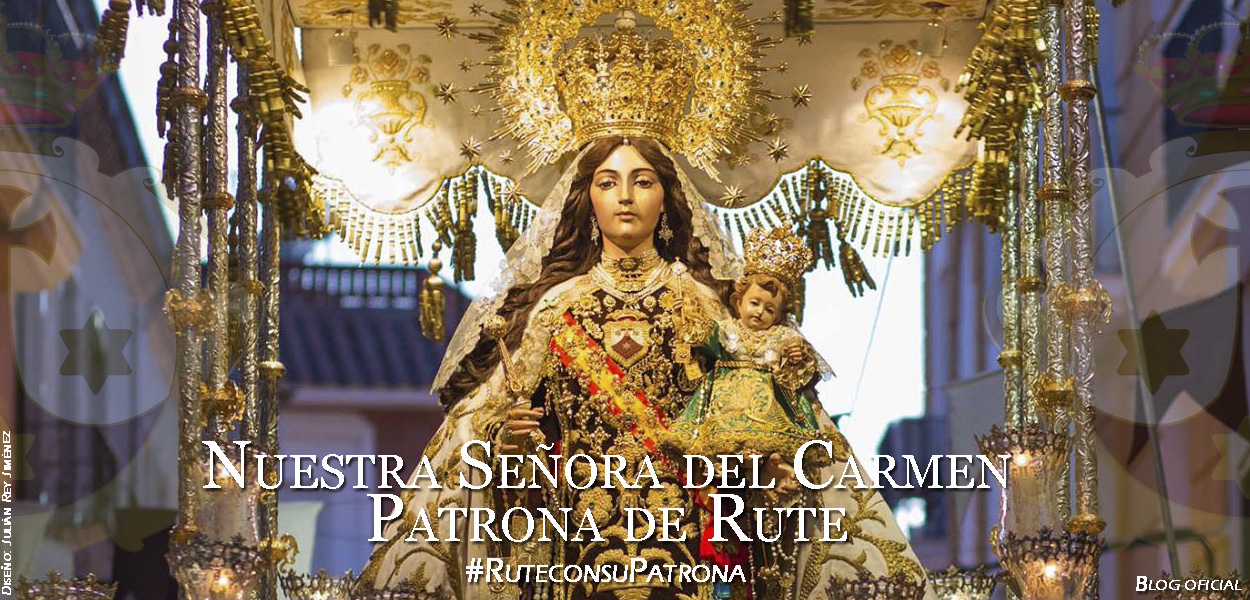 Nuestra Señora del Carmen, Patrona de Rute (Córdoba), España