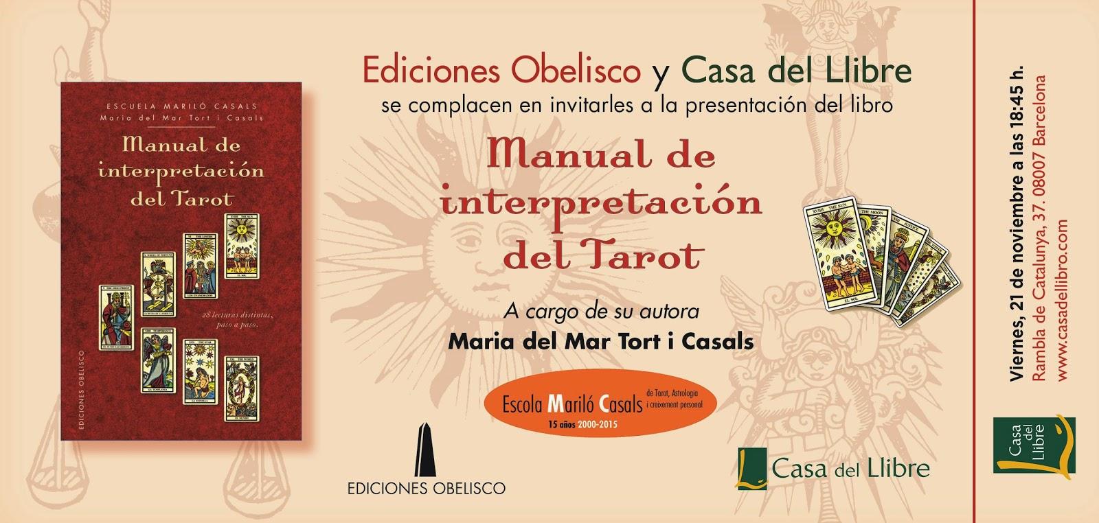 "Sadurní Tarot: ""Manual de Interpretación del Tarot"" por"