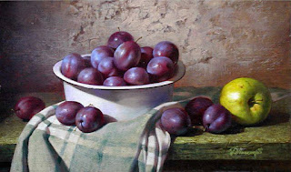 Frutas en Canastos Bodegones Cuadros Realistas