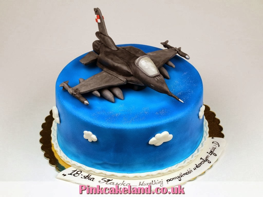 F-16 Fighting Falcon Birthday Cake London