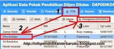 gambar cara Mengatasi Invalid Kecamatan PTK Pada Dapodikdas 303