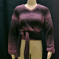 Faux Wrap Sweater, on sale now!