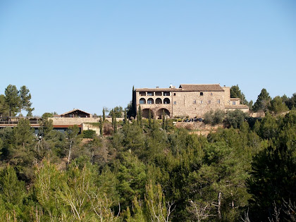 La Garriga des de l'alçada de la carretera de Súria a Castelladral