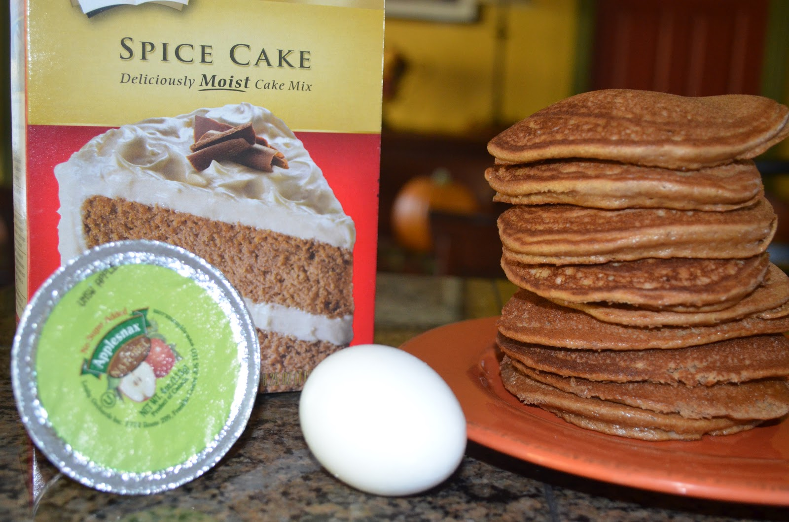 Applesauce Spice Boxed Cake