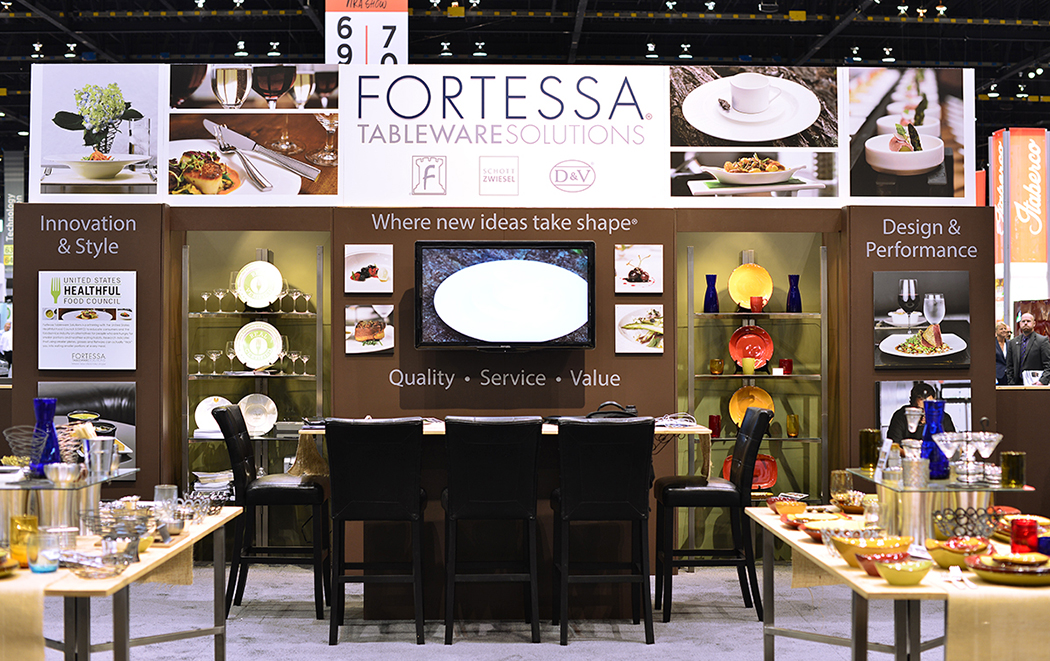 ... Tableware Solutions in the United States. Recently at the Chicago trade show Fortessa set up a most impressive booth showcasing a wide array of our ... & Fortessa Canada Inc.: Showcasing our partners in the USA Fortessa ...