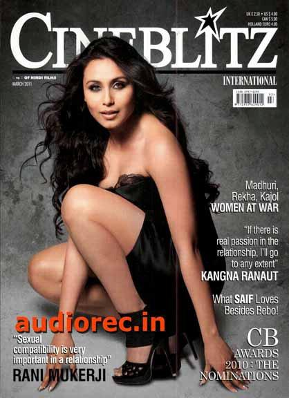 Rani Mukherjee Cineblitz Scans March 2011