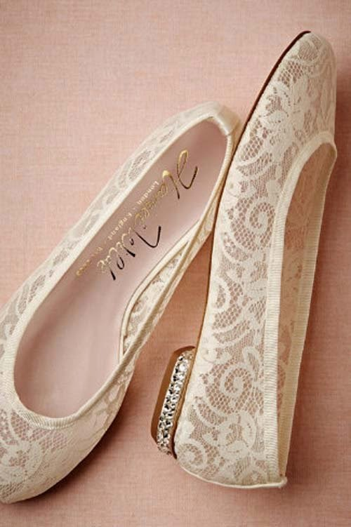 Bridal shoes collection by BHLDN