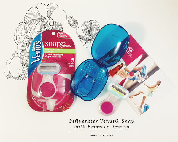 Influenster Venus® Snap with Embrace Review