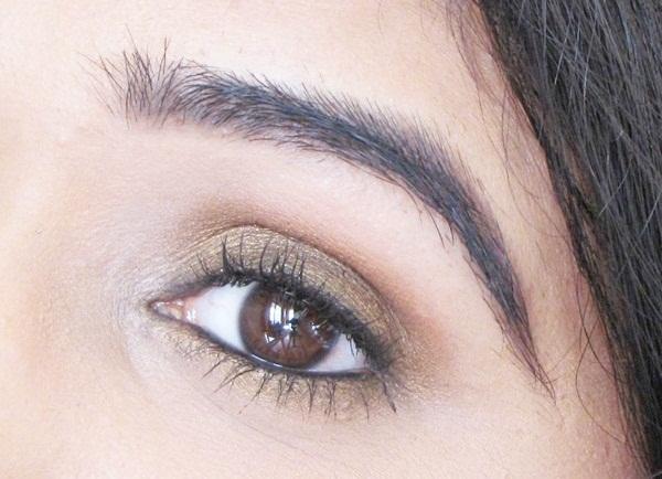 Bronze Eyes Makeup