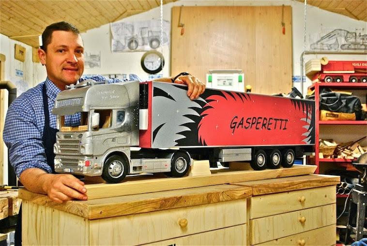 Lo Scania 470 è pronto per mangiare la strada!!!