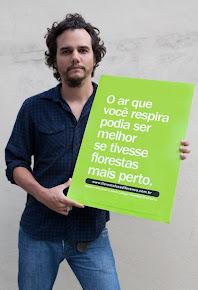 o ator Wagner Moura apóia a campanha #florestafazadiferenca em defesa do Código Florestal
