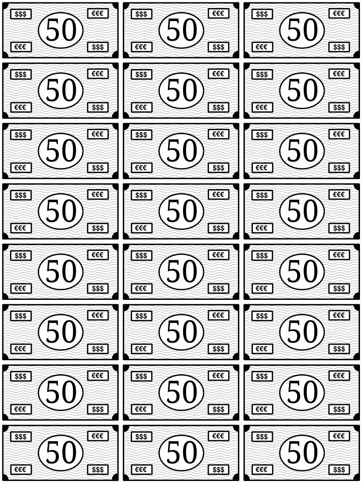 0050_billetes para jugar