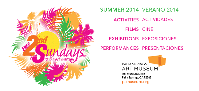 .@PSArtMuseum free Second Sunday July 13, 2014
