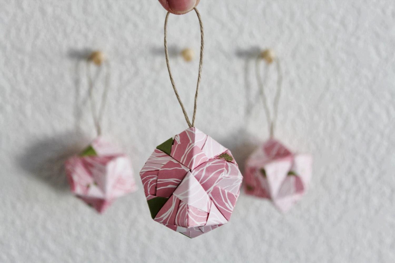 Origami en el rbol de navidad c sas de pel cula - Arbol de navidad origami ...