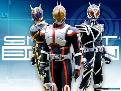 Kamen Rider: Kaiza, Faiz e Delta