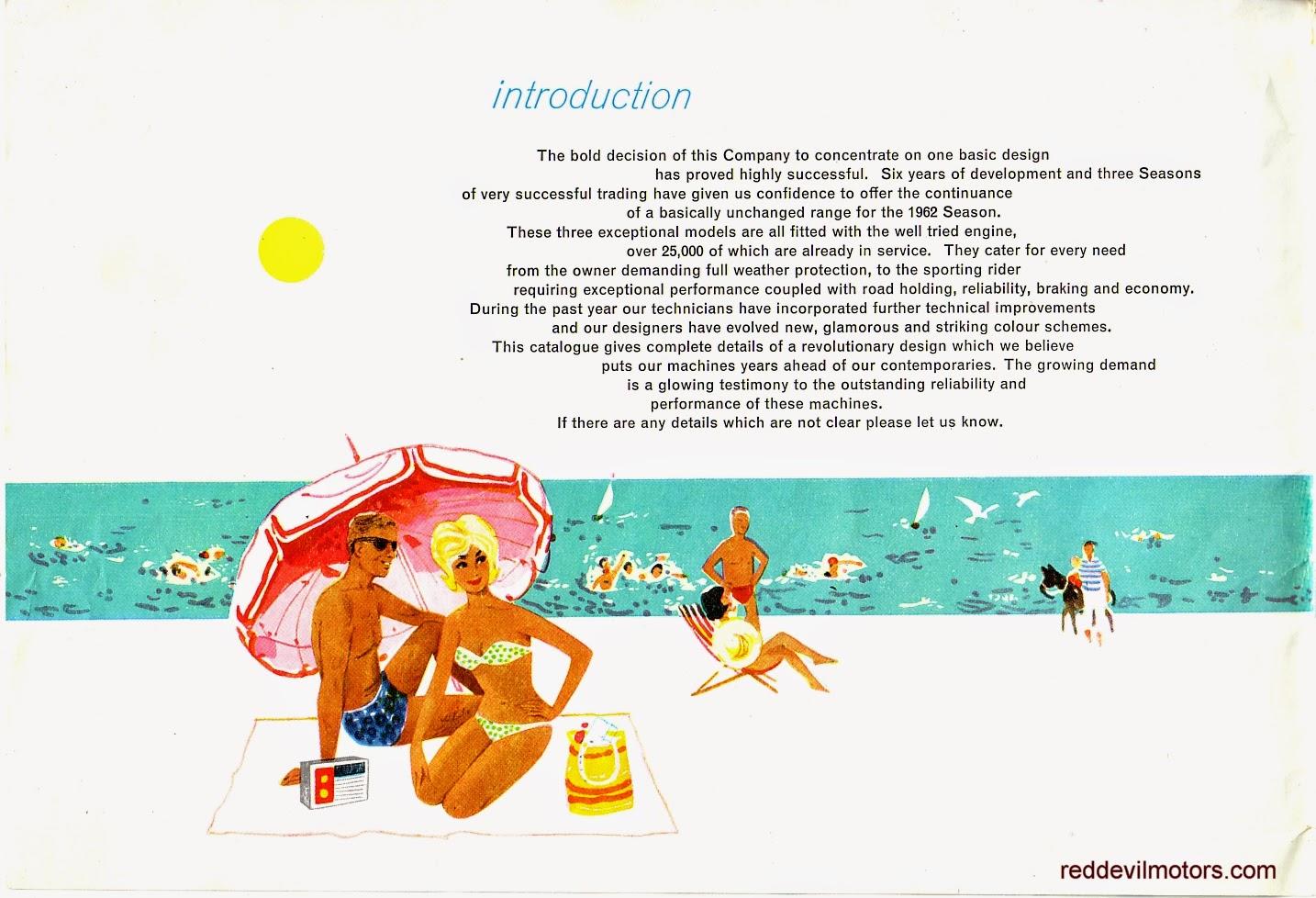 Ariel Arrow and Leader brochure page 1.