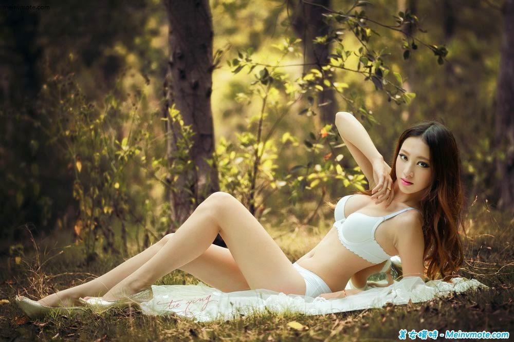 Beautiful wild lingerie show charm