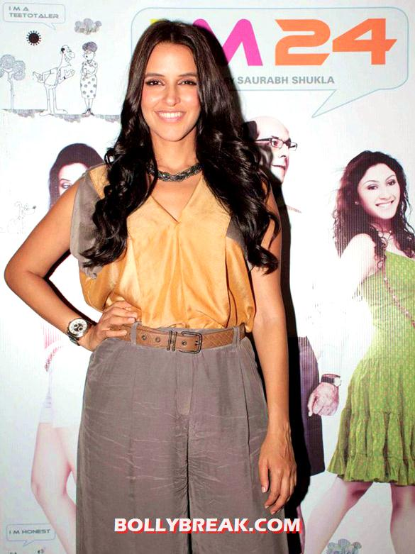 Neha Dhupia - Neha Dhupia at Press meet of 'I M 24'