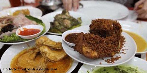Tips berburu kuliner di Sumatera Barat