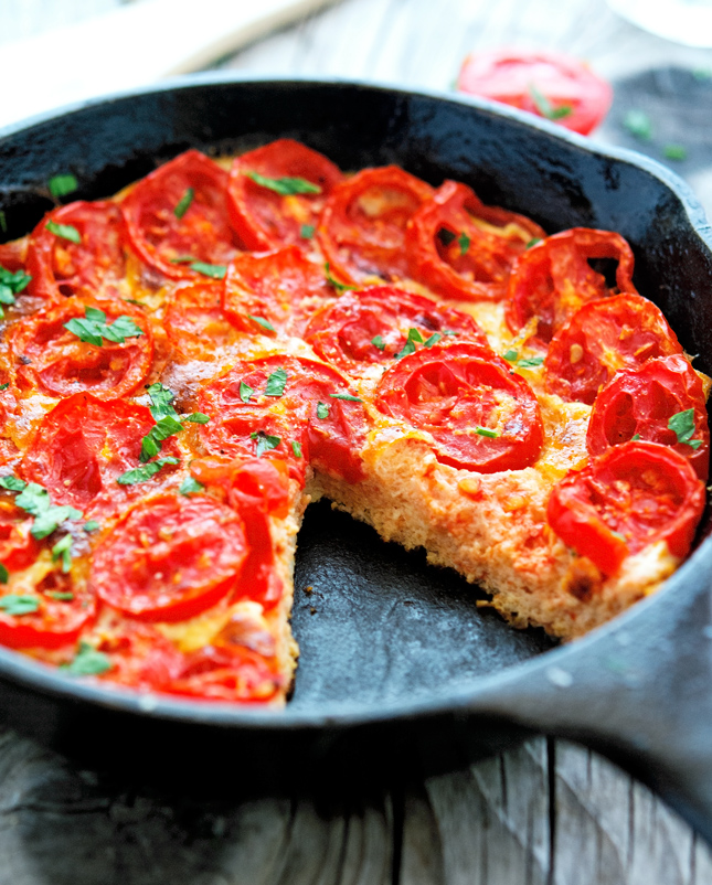 The Iron You: Summer Tomato Frittata