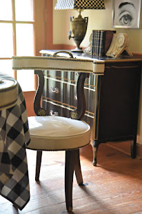 DOROTHY DRAPER CHAIRS IN MY KITCHEN