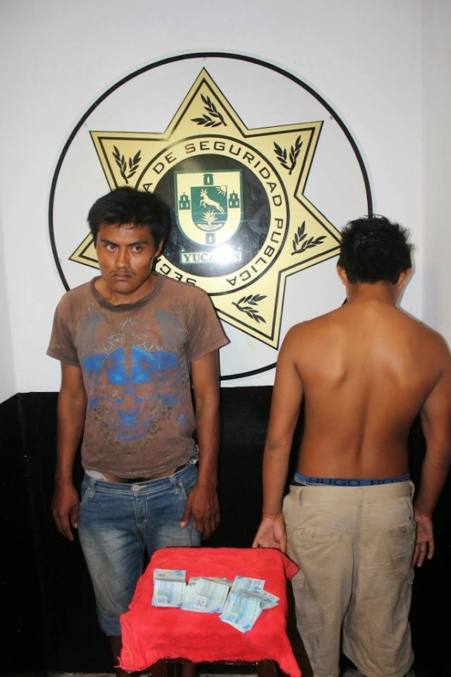 Dos Detenidos por Robo en Gasolinera
