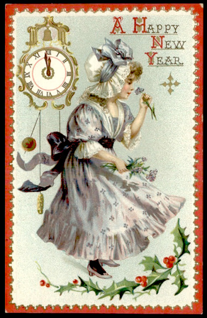 EKDuncan My Fanciful Muse Happy New Year Vintage