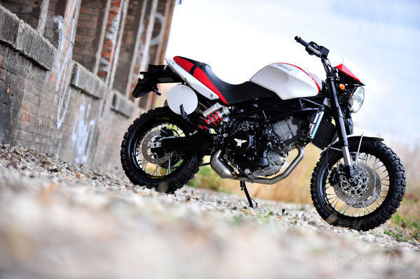 Moto Morini Scrambler 2012 