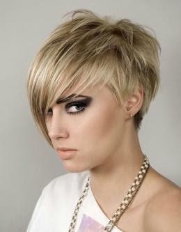 Gambar Jenis Potongan Rambut Wanita Shaggy Pendek Gambar Emo Di - Gaya rambut pendek emo