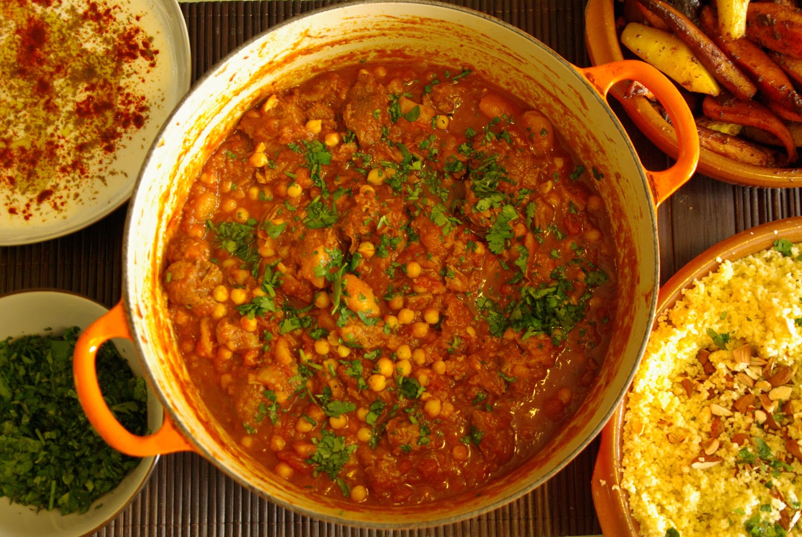 Well Worn Whisk | Family food blog: Lamb, apricot and chick pea tagine