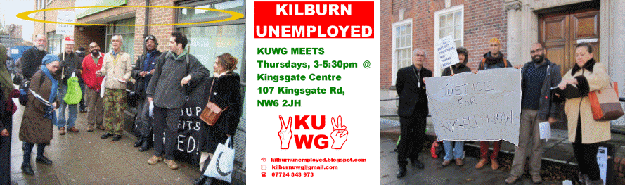 Kilburn Unemployed Workers Group — the Kwug Blog