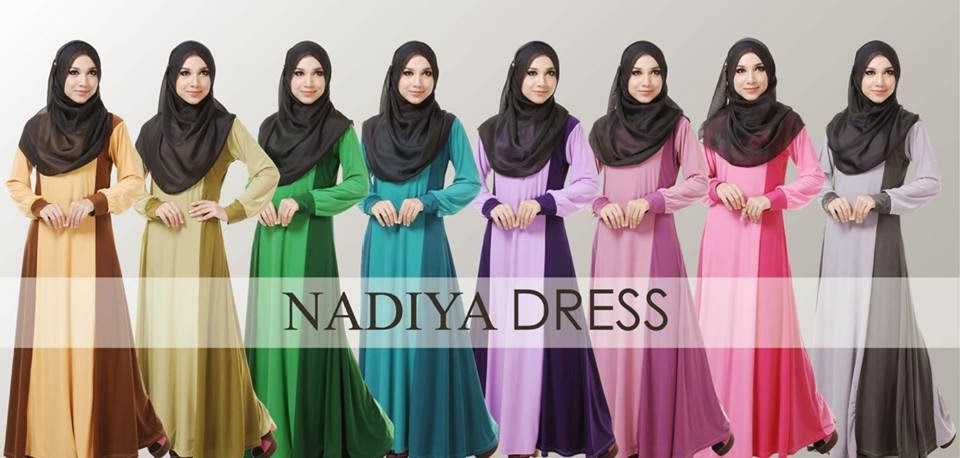 Koleksi Terhangat Best Seller Nadiya Dress. Didatangkan Dengan 8 Warna Pilihan Yang Sangat Menawan.