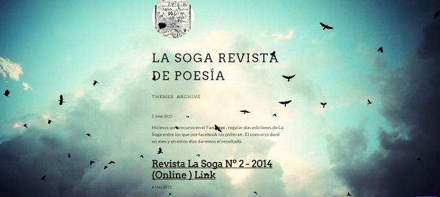 La Soga revista de poesia Coquimbo