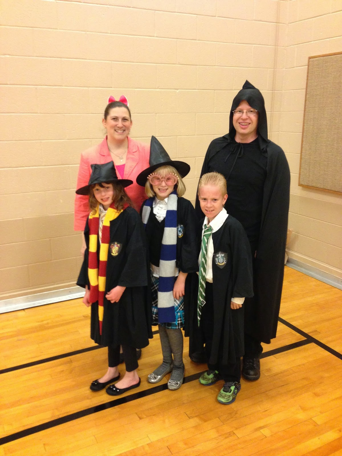 Family Harry Potter Halloween Costumes