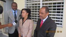 Gobernador visita menores de edad en conflicto con la Ley recluido en Najayo