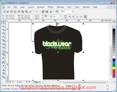 Download Software Design Kaos T-Shirt Extreme Distro